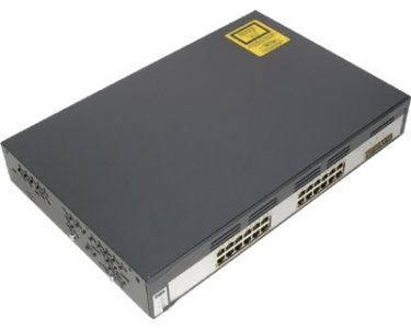 Cisco Catalyst WS-C3750G-24TS-E1U netwerk-switch