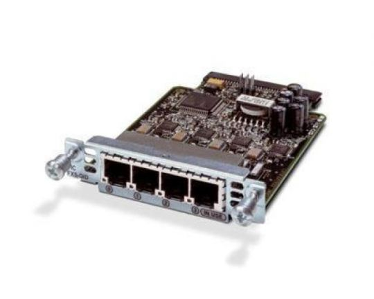 Cisco VIC3-4FXS/DID VoIP-telefoon adapter