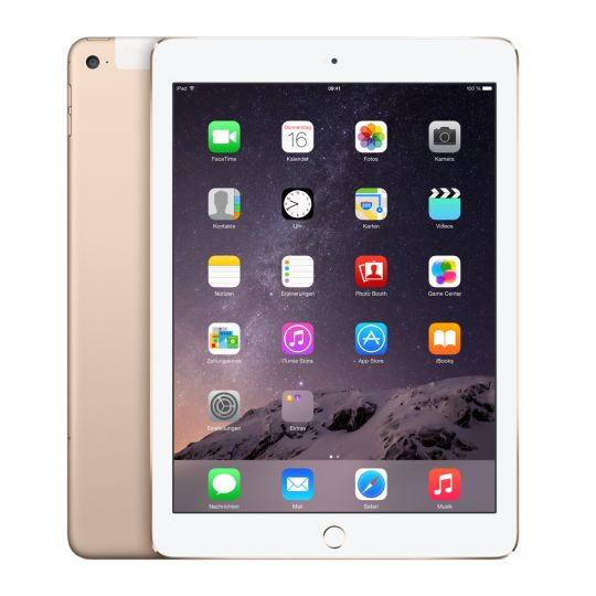 Apple iPad Air 2 64GB WiFi + 4G Goud