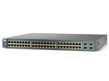 Cisco Catalyst 3560-48PS-S Managed L2 Power over Ethernet (PoE) Turkoois
